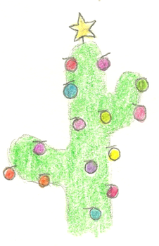 X-Mas Cactus by Matteic