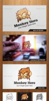 Monkey Hero Logo Template - Graphicriver by Changyik