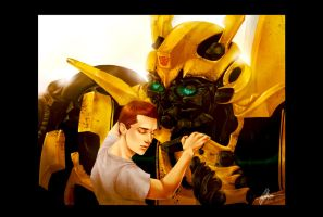 TF+Bee and Sam by Leyla-Lovely