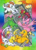 Digimon Adventure by DeathTheDragon