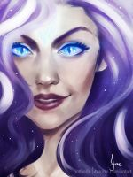Humanized - Nightmare-Rarity by riotfaerie