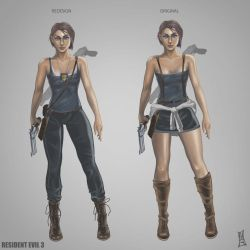 Resident Evil 3 Remake Jill Concept by CODE-umb87