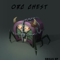Orc Chest by Black-Nocturne