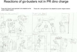 Reactions of go-busters not in PR dino charge by joey2132132