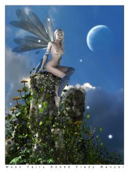 Moon Fairy by Fredy3D