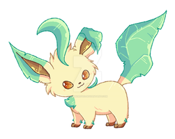 Leafeon by RobbieReyes