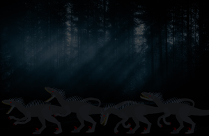Demons in the Forest by TeamDinosauria21