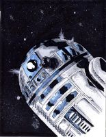 R2 D2 by drawhard