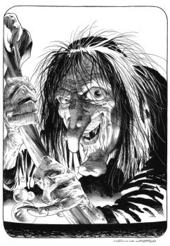 BERNI WRIGHTSON Witch recreation by SKY-BOY