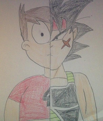 Limpo And Bardock by funnytime77