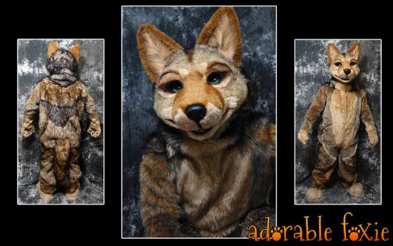 Coyote Fursuit by crssafox