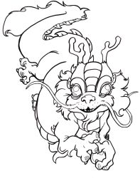 Chinese New Year coloring page by The-Z