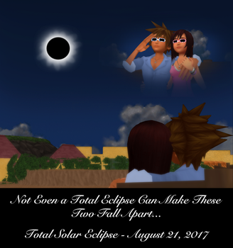 Sora x Kairi - Total Eclipse of Love by rev-rizeup