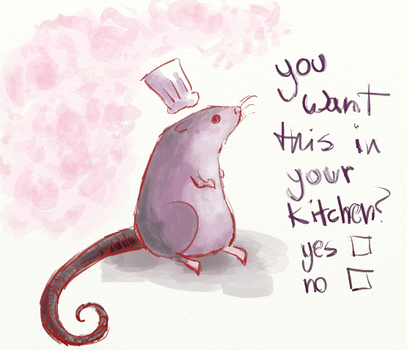 Ratatouille by kittychasesquirrels