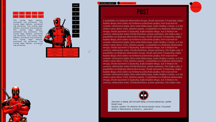 027. Deadpool - the most beautiful world graphics by youwakeup
