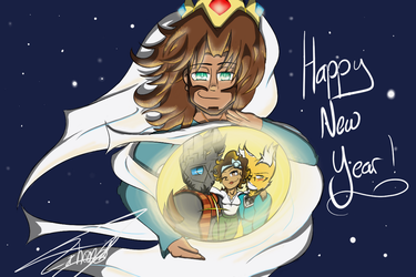 .: HAPPY NEW YEAR :. by modern-day-outsider