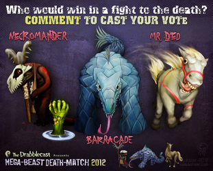 Mega-Beast Death-Match 2012 - Round 4 by BoKaier