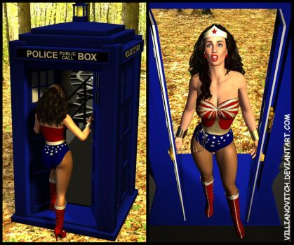 WW meets Dr Who by RichVole