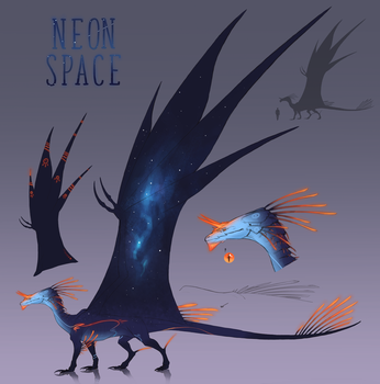 Neon Space(2018) by NeonSpaceArtist