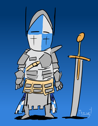 Chibi Warden - For Honor by Merengil