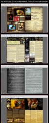 HOW TO READ DEVIANCE - TWO UP by DEVIANCE-ZINE