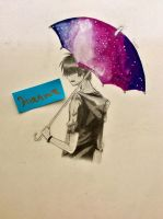 Another Umbrella, Another Galaxy by SylvesterTheGreat