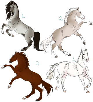 Equine Design Lot | 4/4 OPEN by NorthernMyth