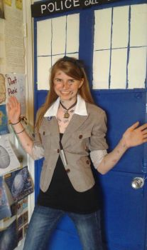 fem!11th Doctor for Impossible Astronaut Day by ZenatheZee