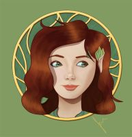 Solana the Elf by TheJenjineer