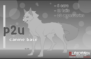 P2U Canine Base 10 by Shinzessu