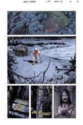 BPRD: The Long Death #3 pg 8 by JHarren