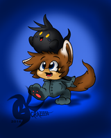 .:Boo Hats and Wolf Onsies:. by BKcrazies0
