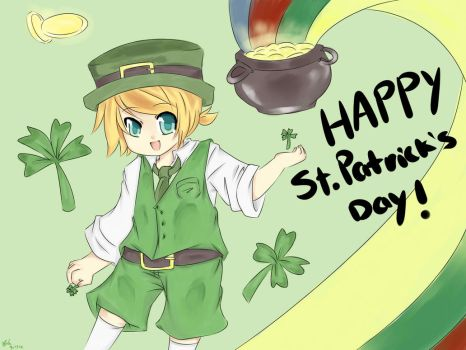 22-Happy Saint Patrick's Day! by Pokemonfan4ever