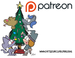 A Fuzzy Christmas - Early release on Patreon by bakertoons