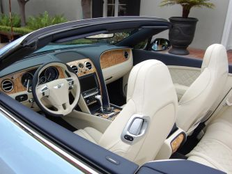 Bentley Continental GT V8 convertible by Partywave
