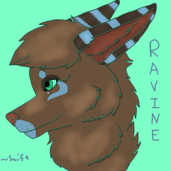 Ravine Headshot Badge by DoubleTroubleWolves