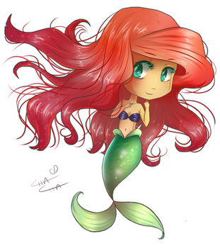 Ariel II by MissElysium