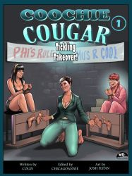 COOCHIE COUGAR #1 Cover Art by MTJpub