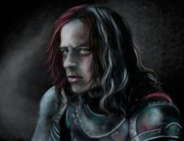 A Girl gives a man his own name by olivegbg