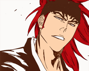 Renji Manga Coloring by josephinedisney