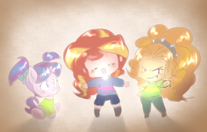 Underpon Mane Kids by thegreatrouge