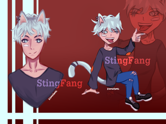 [Closed] Adopt Auction - Casual Neko by StingFang