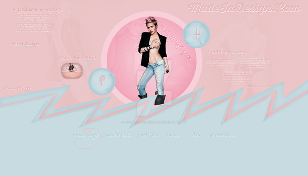 Madeindesign layout by justbreathedesigns