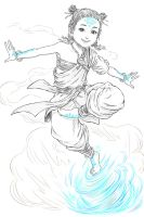 Aang redesign by eys123