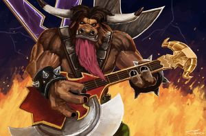 Elite Tauren Chieftain by Tom-Cii