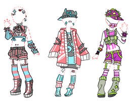 Outfit adopts//close/ by CuoreAlCaramello