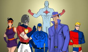 Who Watches the Sentinels Of Justice? by Salman64
