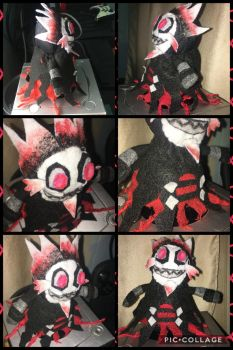 Betrayus Handmade Plush by Bee-Tee-RUS