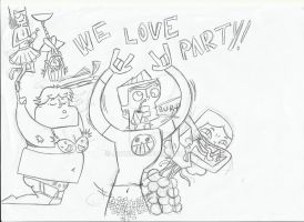 WE LOVE PARTY! -not finished- by JayNL09