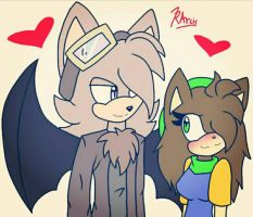 Nathan and Rose by r0ssmiino